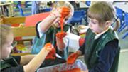 Preschool sensory  experience